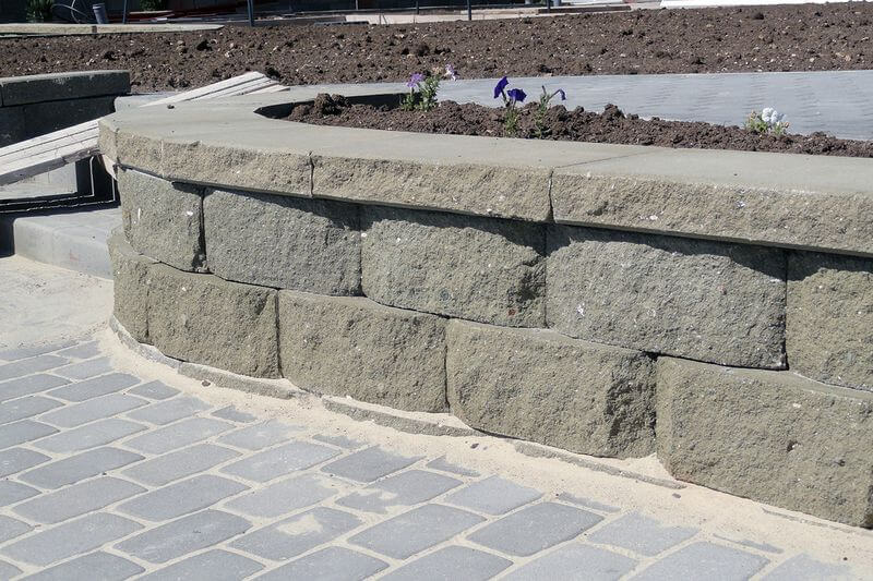 Купить подпорную стенку из бетона бетон купить цена ооо велес